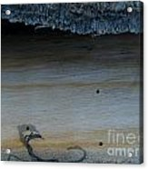 The Creature That Ate The Rings Of Saturn  Acrylic Print