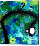 The Creatures From The Drain Painting 42 Acrylic Print