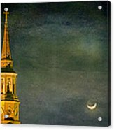 The Cross And The Crescent Acrylic Print
