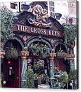 The Cross Keys Acrylic Print