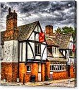 The Cross Keys Pub Dagenham Acrylic Print
