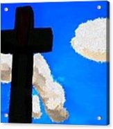 The Cross Of Christ Acrylic Print