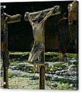 The Crucifixion Acrylic Print