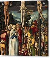 The Crucifixion Of Christ Acrylic Print
