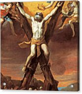 The Crucifixion Of St Andrew Acrylic Print