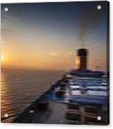 The Cruise Acrylic Print