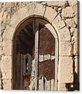 The Crying Door Acrylic Print