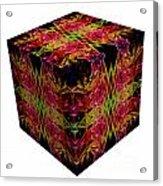 The Cube 8 Acrylic Print
