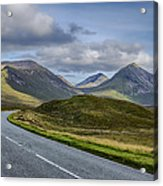 The Cuillin Mountains Of Skye 2 Acrylic Print