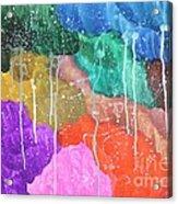 2012 The Curtain Of The Sky 02 Acrylic Print