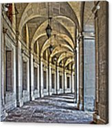The Curve In Color Acrylic Print