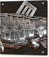 The Cutlery Fish Acrylic Print