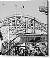 The Cyclone In Black And White Acrylic Print