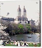 The Dakota From Central Park Acrylic Print