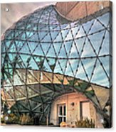 The Dali Museum St Petersburg Acrylic Print by Mal Bray