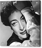 The Damned Dont Cry, Joan Crawford, 1950 Acrylic Print
