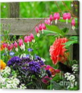 The Dance Of Spring Acrylic Print by Sean Griffin