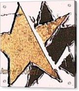 The Dance Of The Stars Acrylic Print