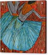 The Dancers Acrylic Print by John Giardina