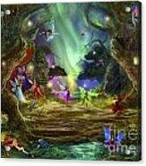 The Dancing Auroras Acrylic Print