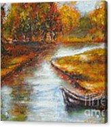 The Danube Delta  Acrylic Print