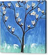 The Darling Buds Of February Acrylic Print