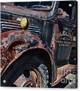 The Darlins Truck Acrylic Print