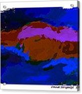 The Dawn Acrylic Print by David Skrypnyk