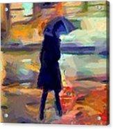 The Day For An Umbrella Acrylic Print