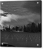 The Dead Lie Here Acrylic Print