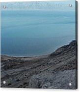 The Dead Sea - Looking At Jordan Acrylic Print