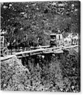 The Deadwood Coach, 1889 Acrylic Print