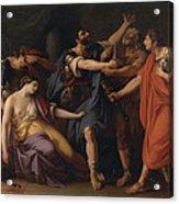 The Death Of Lucretia Acrylic Print