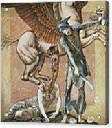 The Death Of Medusa I, C.1876 Acrylic Print