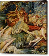 The Death Of Siegfried Acrylic Print