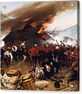 The Defence Of Rorke's Drift 1879 Acrylic Print