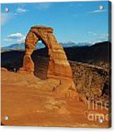 The Delicate Arch 10 Acrylic Print