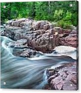 The Dells Of The Eau Claire River  Acrylic Print