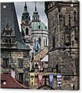 The Depths Of Prague Acrylic Print