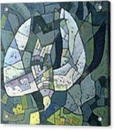 The Descending Dove Libra, 1966 Acrylic Print