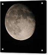 The Descending Moon Acrylic Print