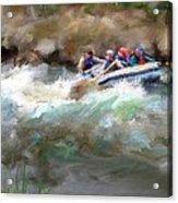 The Deshka River Alaska Acrylic Print