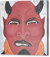 The Devil Is The Detail Acrylic Print