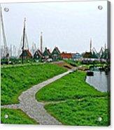 The Dike In Enkhuizen-netherlands Acrylic Print