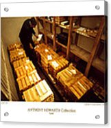 Anthony Howarth Collection - Gold- The Diligent Clerk Acrylic Print