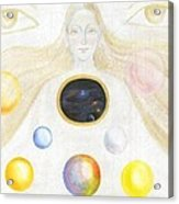 The Discovery Of The Cosmic Spirit Acrylic Print