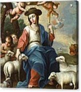 The Divine Shepherdess Acrylic Print