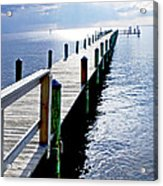 The Dock Of The Bay Acrylic Print