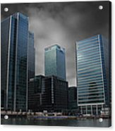 The Docklands Acrylic Print
