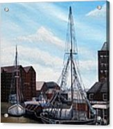 The Docks Gloucester Acrylic Print